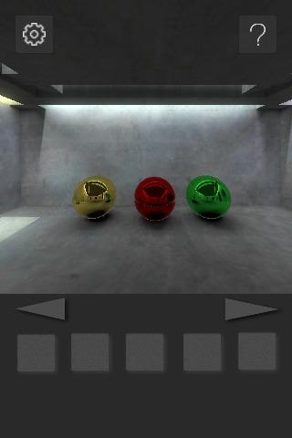 脱出ゲーム : 打ち放しコンクリートの部屋からの脱出のスクリーンショット_3