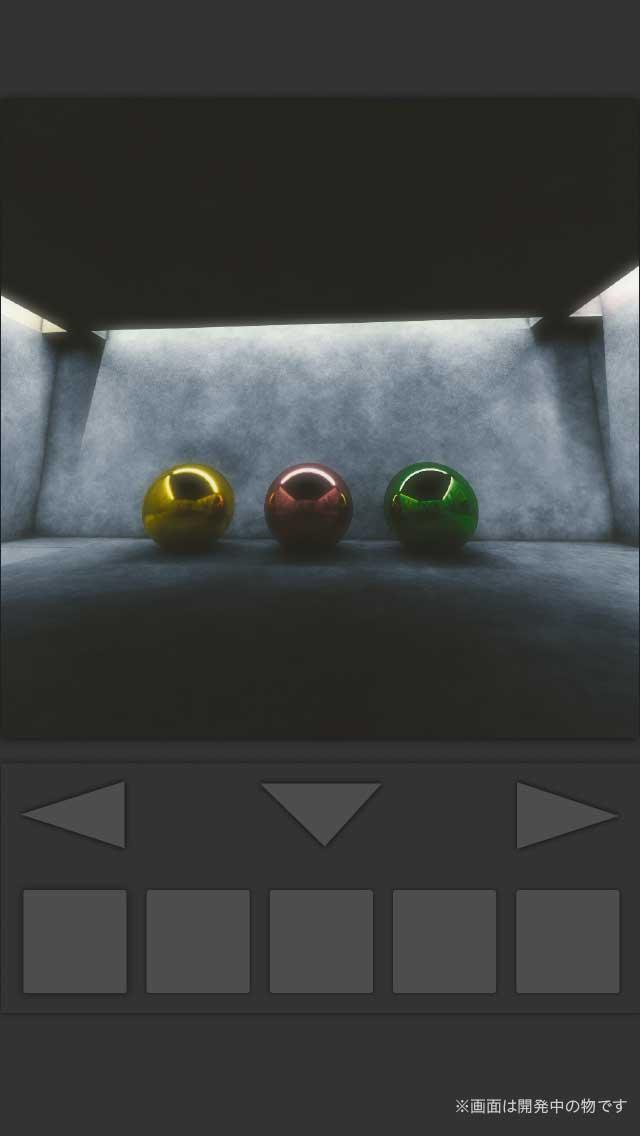 脱出ゲーム:コンクリの部屋のスクリーンショット_1