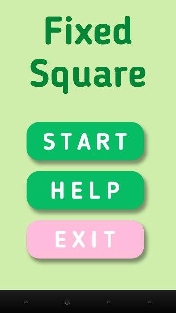 Fixed Squareのスクリーンショット_1