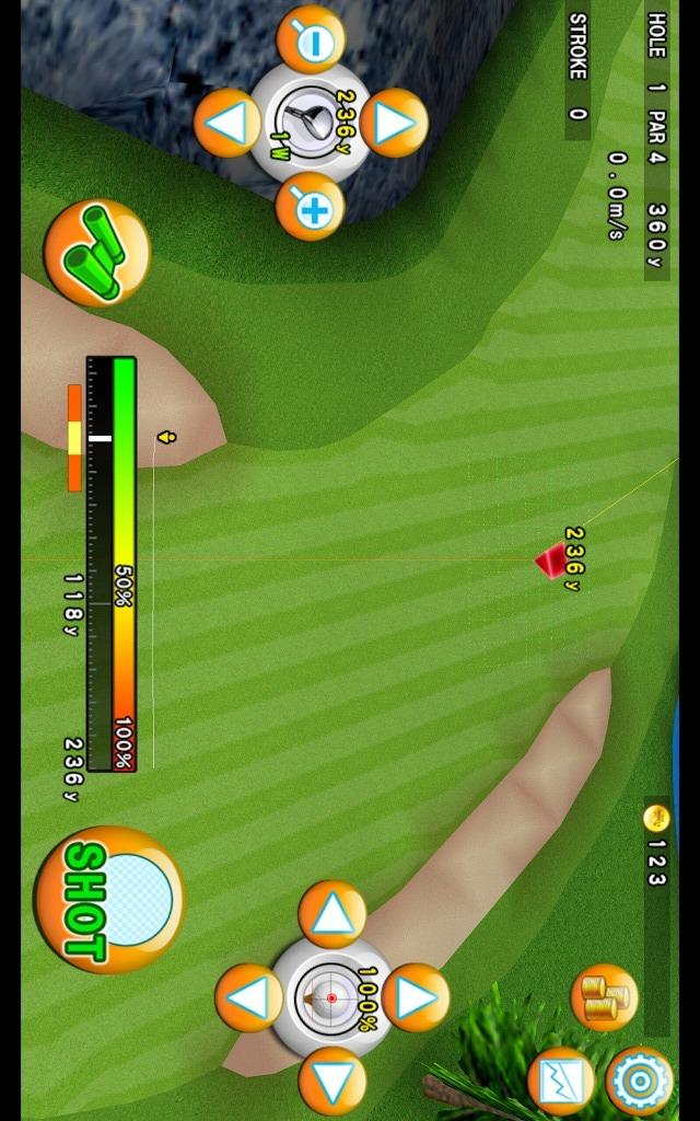 ゴルフモデラ♪Golfコースも作れる無料ゴルフゲームアプリのスクリーンショット_3