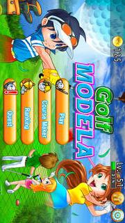 Golf MODELA -Golf Game -Craft golf courseのスクリーンショット_1