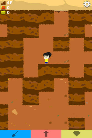 ディグマン 無限回廊脱出ゲームのスクリーンショット_2
