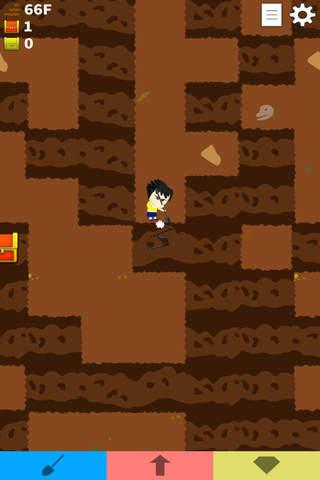 ディグマン 無限回廊脱出ゲームのスクリーンショット_3