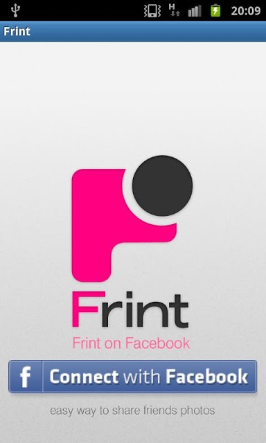 Frint - フェイスブックで写真共有のスクリーンショット_1