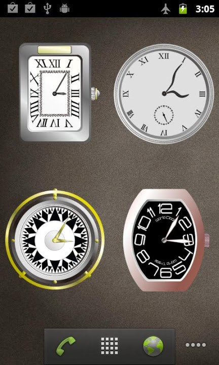 ClockWidgetのスクリーンショット_2