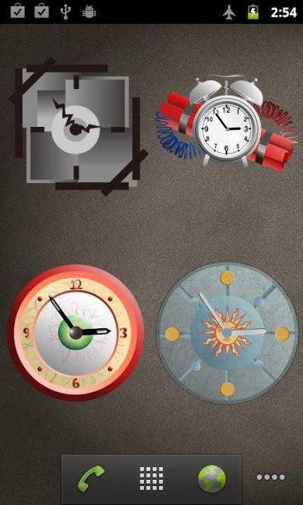 ClockWidgetのスクリーンショット_4