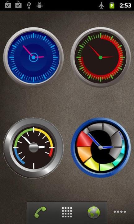 ClockWidgetのスクリーンショット_5