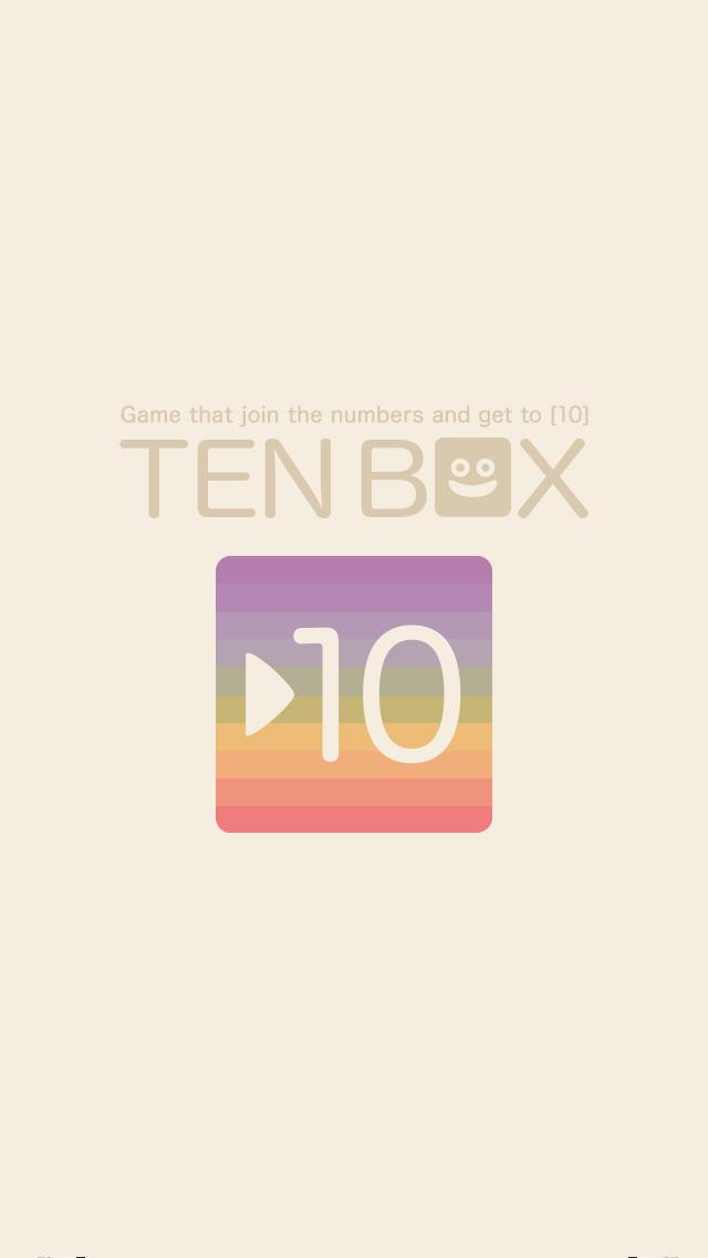 TEN BOX –癒しの脳トレ(バズル)ゲーム-のスクリーンショット_5