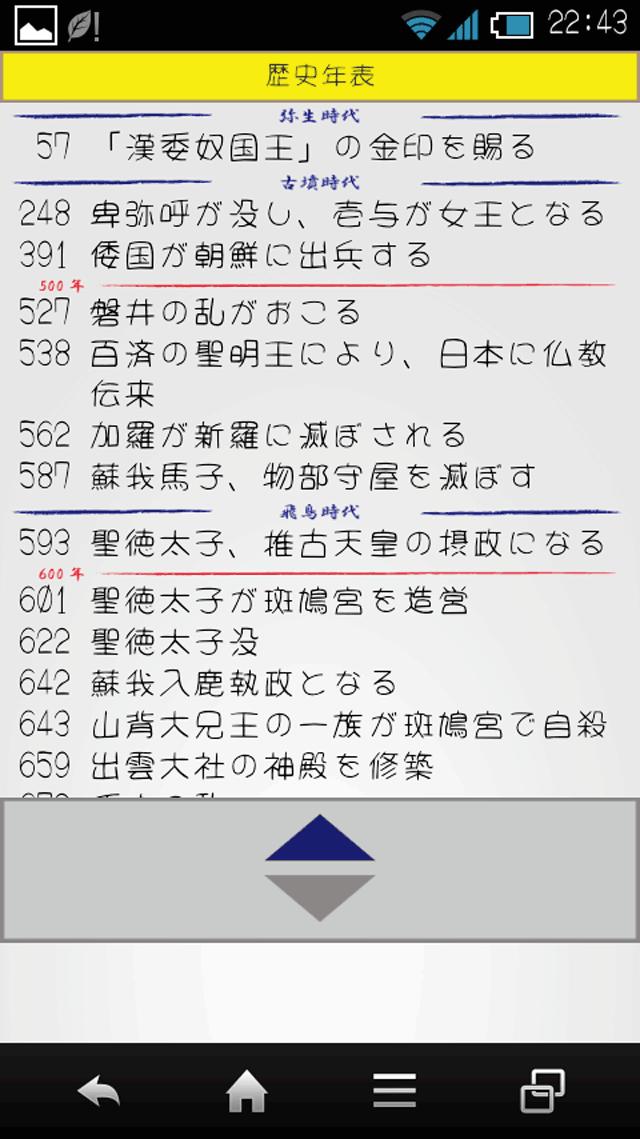 Japantory ~日本の歴史~ のスクリーンショット_2
