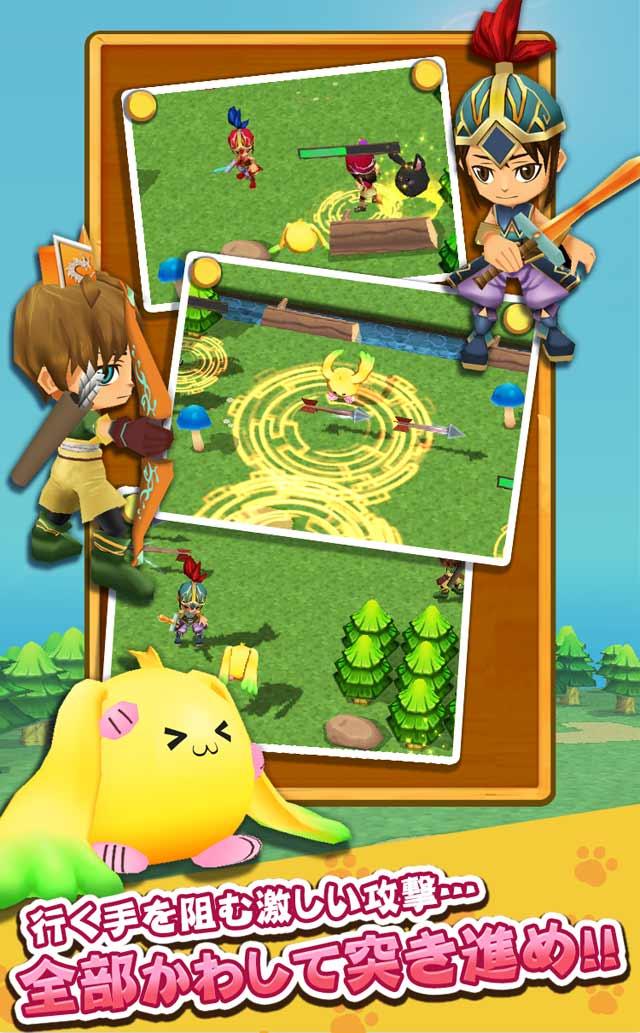 たまうさジャンプ!◆無料で楽しい爽快冒険アクションゲームのスクリーンショット_2