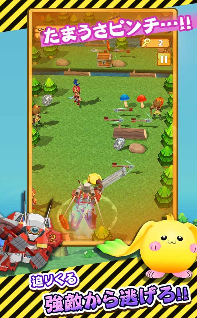 たまうさジャンプ!◆無料で楽しい爽快冒険アクションゲームのスクリーンショット_3