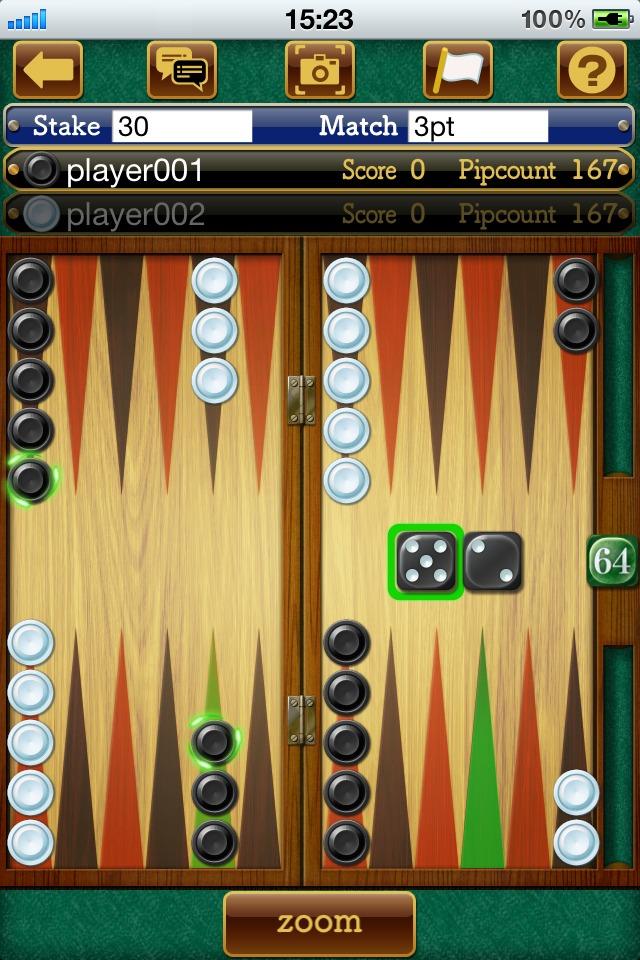 backgammon friendsのスクリーンショット_3