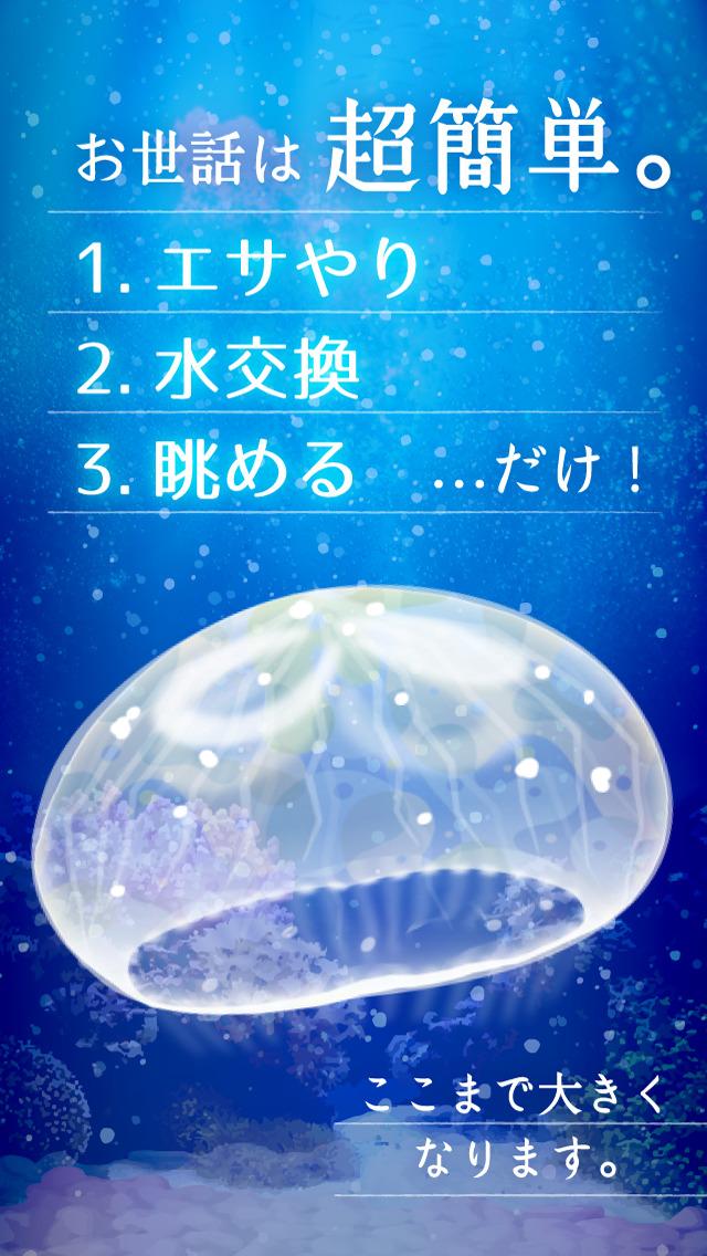 癒しのクラゲ育成ゲームのスクリーンショット_2
