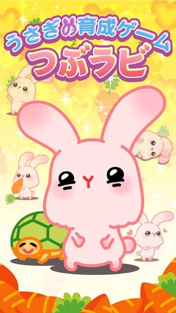 つぶラビ!〜かわいいうさぎの育成ゲームのスクリーンショット_5