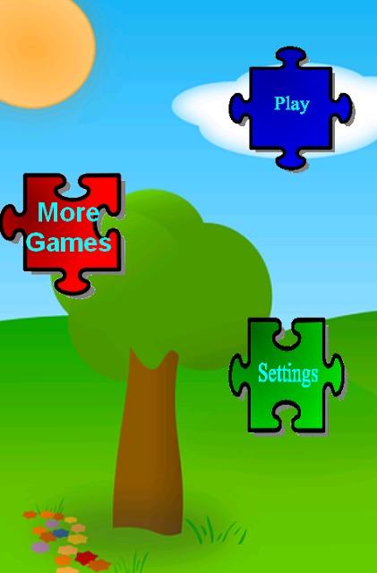 パズルゲームキッズ動物のスクリーンショット_1