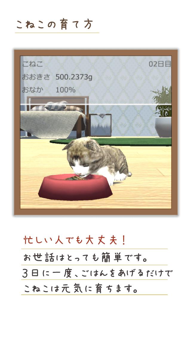 [癒しアプリ]ねこ育成3Dのスクリーンショット_3
