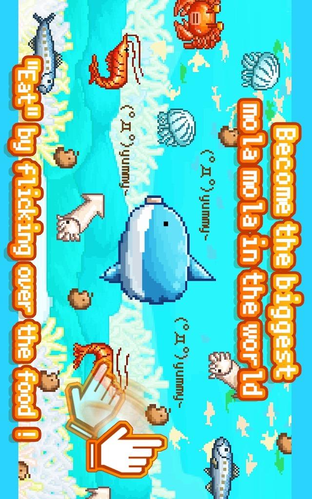 Survive! Mola mola!のスクリーンショット_1