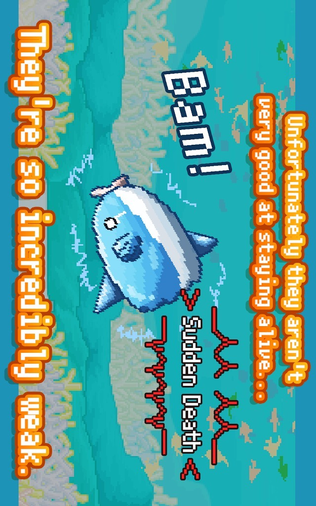 Survive! Mola mola!のスクリーンショット_2