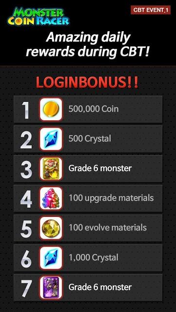 Monster Coin Racer BetaTestのスクリーンショット_5