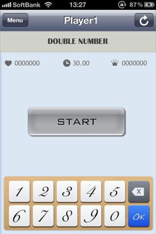 脳トレ -ダブルナンバー-のスクリーンショット_2