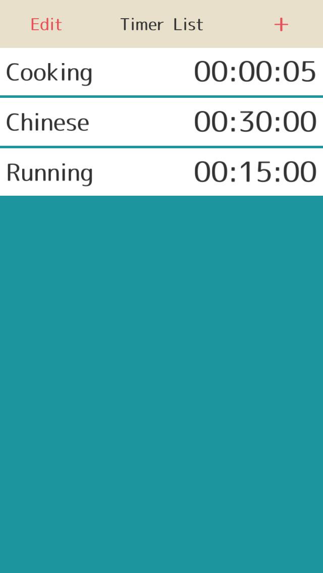 累積時間管理のスクリーンショット_1