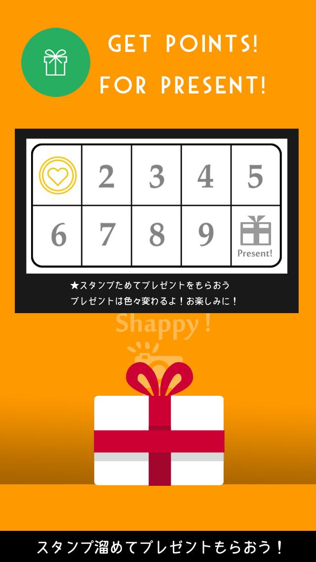 プリント機能付カメラアプリShappy!シャッピーのスクリーンショット_4