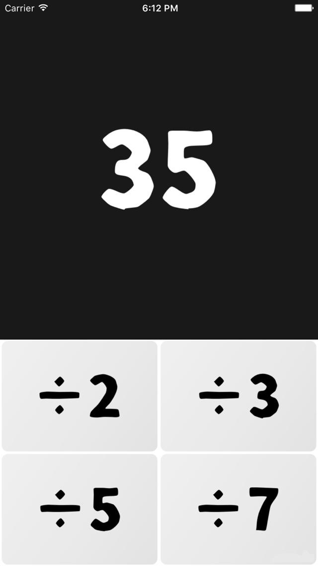 脳トレ数字パズル-素因数分解のスクリーンショット_3