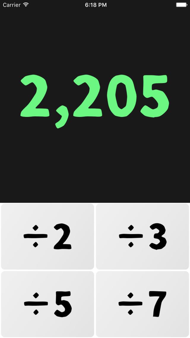脳トレ数字パズル-素因数分解のスクリーンショット_4