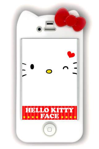 HELLO KITTY FACEのスクリーンショット_1