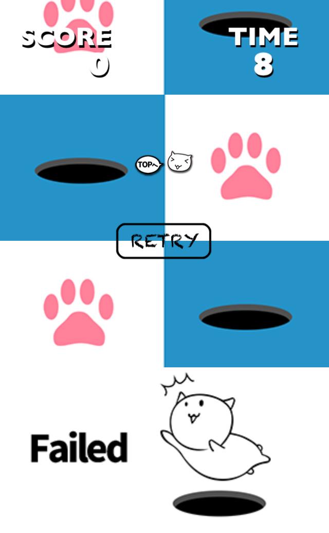 猫でふみふみ タップして競争のスクリーンショット_4