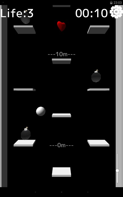 Bounce【簡単、暇つぶし、無料、ゲーム】のスクリーンショット_3