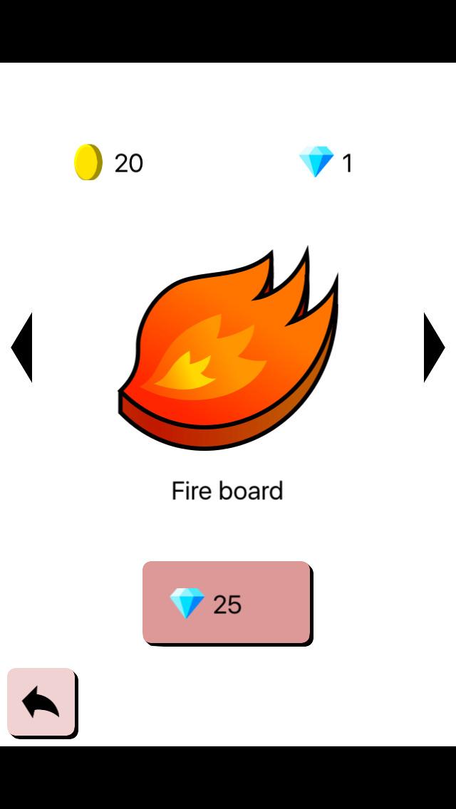 ビート板の上に立つゲームのスクリーンショット_4