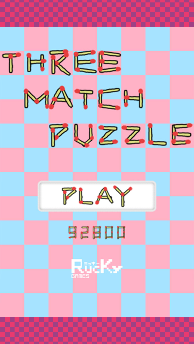 THREE MATCH PUZZLEのスクリーンショット_2