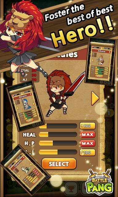 Battle Pangのスクリーンショット_2