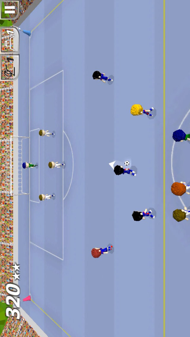Swipy Soccer - スワイプ操作の本格ミニサッカーのスクリーンショット_1