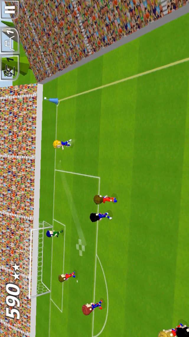 Swipy Soccer - スワイプ操作の本格ミニサッカーのスクリーンショット_2
