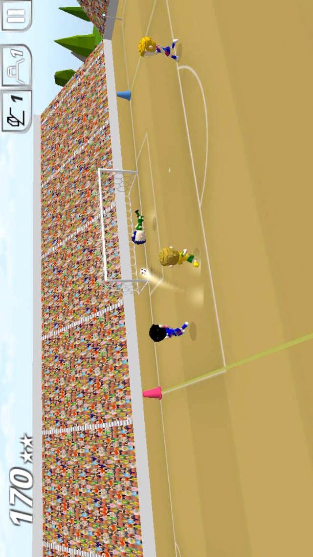 Swipy Soccer - スワイプ操作の本格ミニサッカーのスクリーンショット_3