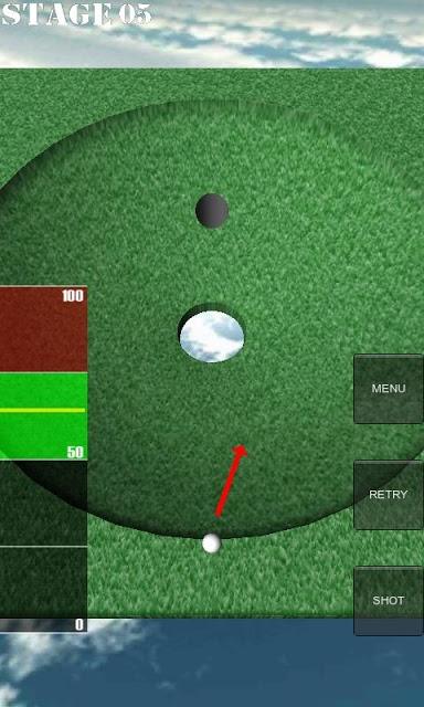 1球パターゴルフ~無理難題を攻略せよ~のスクリーンショット_1
