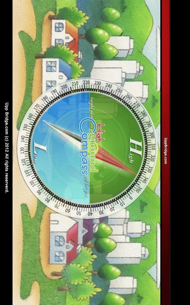 high ground compass 高台避難 無料版のスクリーンショット_5
