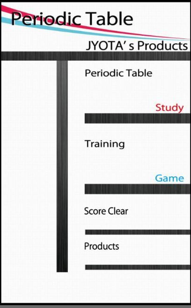 周期表・元素記号パズルPuzzlePeriodicTableのスクリーンショット_2