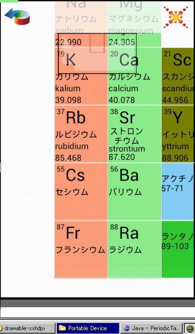 周期表・元素記号パズルPuzzlePeriodicTableのスクリーンショット_3