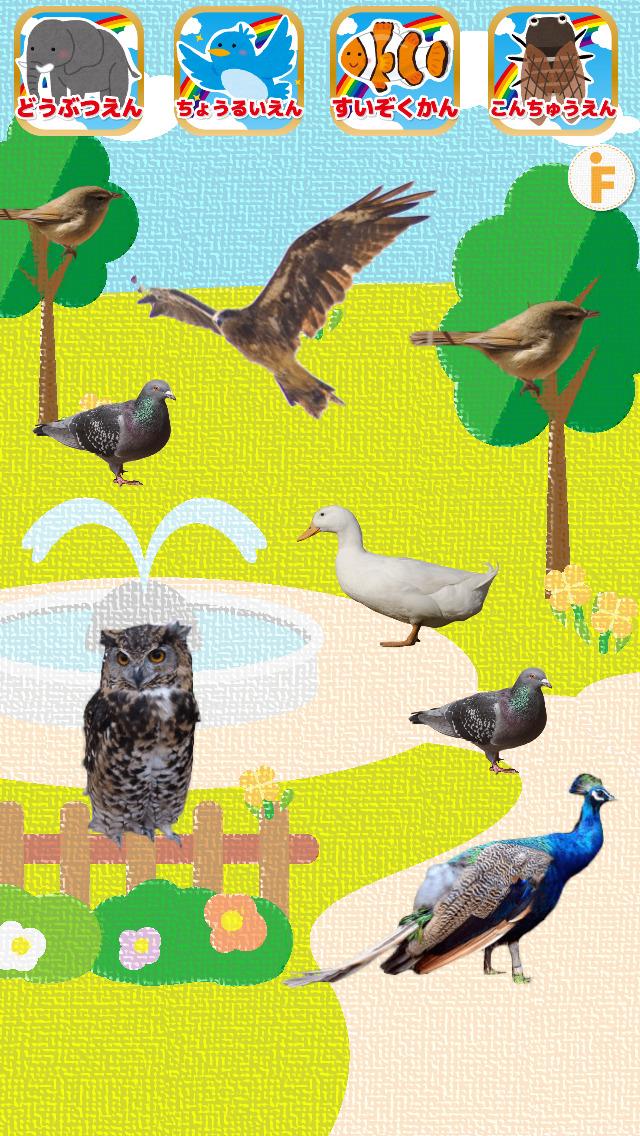 はじめての動物園!-水族館・鳥類園・昆虫園付きのスクリーンショット_3