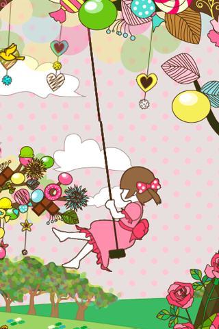 sweet tree ライブ壁紙[FL ver.]のスクリーンショット_4