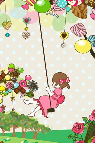 sweet tree ライブ壁紙[FL ver.]のスクリーンショット_5