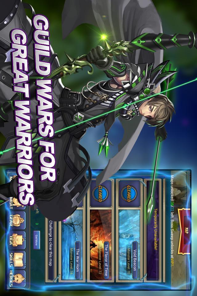 Darkborn - AFP RPGのスクリーンショット_2