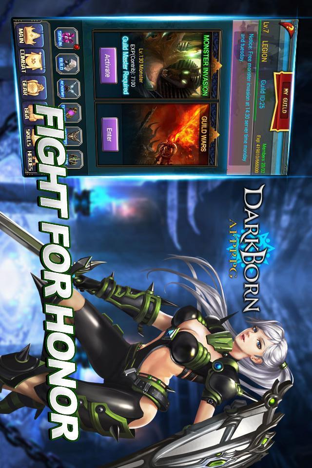 Darkborn - AFP RPGのスクリーンショット_3
