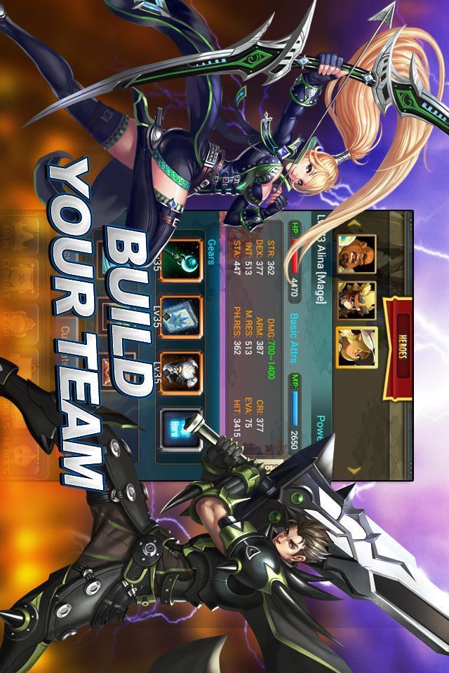 Darkborn - AFP RPGのスクリーンショット_4