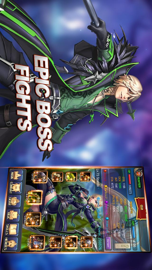 Darkborn - AFP RPGのスクリーンショット_5
