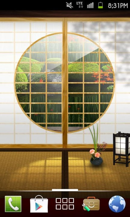 Zen Garden -Fall- ライブ壁紙[FLver]のスクリーンショット_3