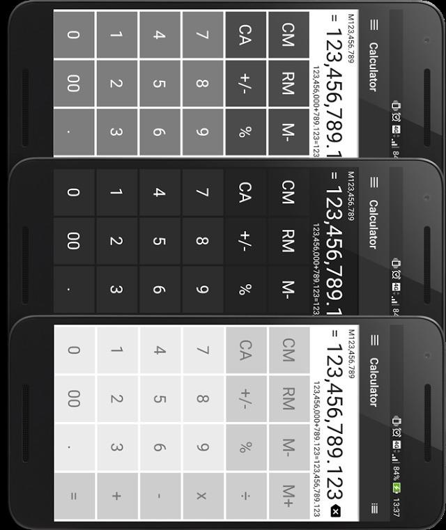 電卓 シンプルで使いやすい無料の計算機アプリのスクリーンショット_2